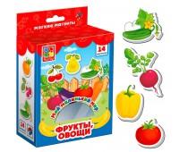 Фрукты, овощи, коллекция магнитов, Мой маленький мир (укр), Vladi Toys
