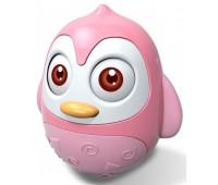 Ванька-встанька Пингвин, розовый, Baby Mix