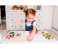 Детский комплект столик и стульчик Multifun, мультиколор, Tega