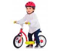 Детский беговел Comfort с подножкой (красный), Smoby