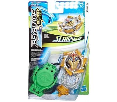 Волчок Sphinx S4 с пусковым устройством, Slingshock, Starter Pack, Beyblade