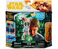 Интерактивный браслет Force Link 2.0 и фигурка Хан Соло (9,5 см), Star Wars