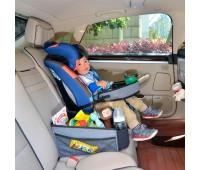Детский универсальный автомобильный столик для автокресла, Bugs