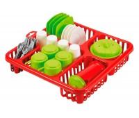 Сушка с посудой, 32 аксессуары, Ecoiffier
