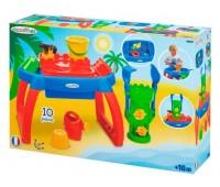 Стол для игры с водой и песком, с аксессуарами, Ecoiffier