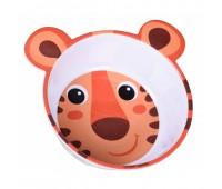 Мисочка из меламина, антискользящая с ушками, оранжевая, Hello Little, Canpol babies