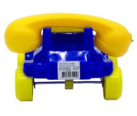 Каталка Телефон маленький, синий, Maximus