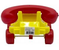Каталка Телефон маленький, желтый, Maximus