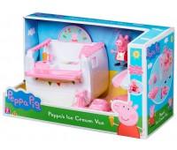Игровой набор Фургончик с мороженым, Peppa