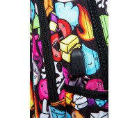 Рюкзак Strike L + USB PORT Doodle (27 л), CoolPack