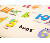 Развивающий коврик Сказочный праздник (большой), Bugs