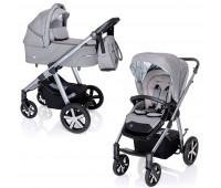 Коляска Baby Design Husky NR 07 GRAY