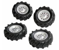 Набір надувних колес Rolly Toys rollyTrac Air Tyres 4х310х95