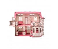 Кукольный дом GoodPlay 57х27х35 с подсветкой (B 014)