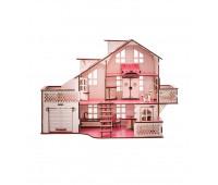 Кукольный дом GoodPlay 57х27х35 с гаражом и подсветкой (B 011)
