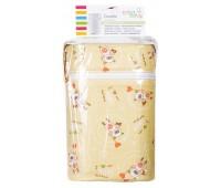 Термоконтейнер Ceba Baby Double 85*155*230мм*2шт бутылочки желтая (мишки с волшебной палочкой)