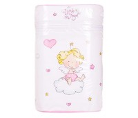 Термоконтейнер Ceba Baby Double 85*155*230мм*2шт бутылочки белый-розовый (ангелочек)