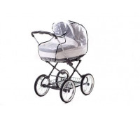 Дождевик для универсальной коляски Qvatro DQB-1 клеёнка, большой