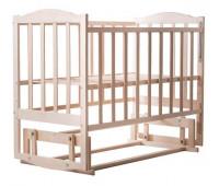 Кровать Babyroom Зайчонок Z200 маятник без лака