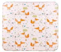Пеленальный матрас Ceba Baby WD 85*70 multi fox бежевый