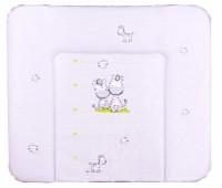 Пеленальный матрас Ceba Baby WD 85*70 multi зебры серый